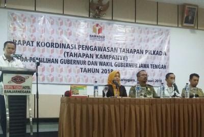 Panwascam Harus Waspadai Politik Uang dalam Pilgub Jateng 2018